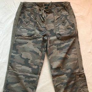 J. Crew Camouflage Capri Pants